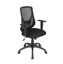 Nilkamal Promo Mid Back Office Chair, Black