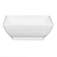 Sara Miniature Square Bowl - @home by Nilkamal, White