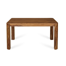 Granada 6 Seater Dining Table - @home by Nilkamal, Natural Walnut