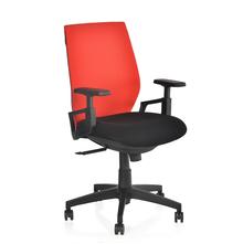 Nilkamal Steller MB Office Chair, Red & Black