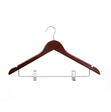 Wood Hangers 44 cm x 24 cm 3 Pieces - @home by Nilkamal, Dark Brown