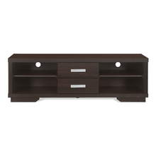 Cecy Low Height Wall Unit - @home by Nilkamal, Brazen Brown