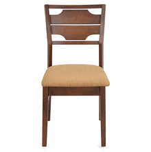 Olenna Dining Chair With Cushion - @home Nilkamal,  walnut