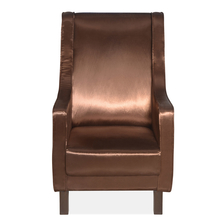Castello Occassional Chair, Shiny Brown