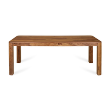 New Granada 8 Seater Dining Table, Naturl Walnut
