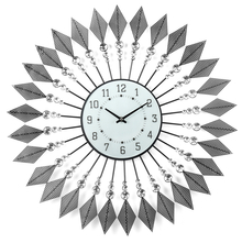 Geometric Wall Clock - @home By Nilkamal, Black