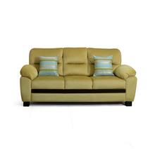 Sarah 3 Seater Sofa - @home Nilkamal,  apple green