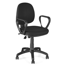 Nilkamal Glamour Office Chair, Black