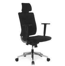 Nilkamal Charles High Back Office Chair,  black