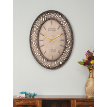 Paris Wall Clock, Brown