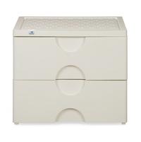 Nilkamal Chester Storage Drawer Series-32,  ivory
