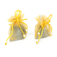 Lemon Set of 2 Scented Sacks -@home by Nilkamal, Yellow