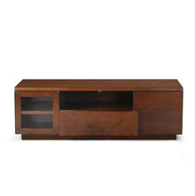 Nixon Antique Cherry Low Height Wall Unit - @home by Nilkamal