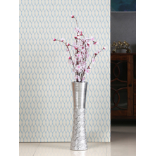Hourglass Tall Vase, Black & White