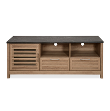 Octave Low Height Wall Unit, Pacific Oak