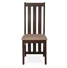 Nilkamal Newark Dining Chair with Cushion, Walnut