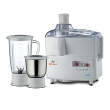 Bajaj Amaze 450 W Mixer Grinder with 2 Jars, White