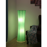 Martin Paper Floor Lamp, Green