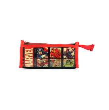 Avenger Pvc Square Pencil Pouch, Gold Red