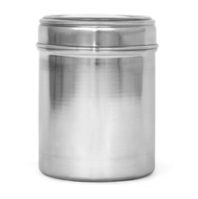 Plain 1.4 Litres Stainless Steel Container with Seethru Lid, Silver