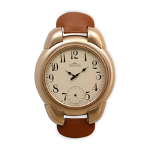 Watch Wall Clock - @home by Nilkamal, Gold