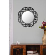 Morrocan Mirror, Silver