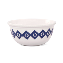 Homely Inks 10 cm Veg Bowl - @home by Nilkamal, Indigo
