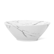 Marble Collection Soup Bowl - @home by Nilkamal, White