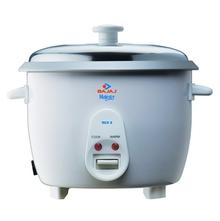 Bajaj RCX5 1.8 L 550 W Rice Cooker, White