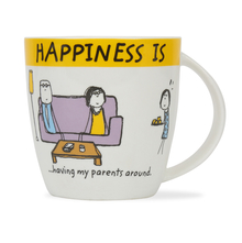 Hap Parents 320ML Coffee Mug, Yellow