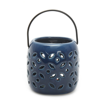 LED Hanging Votive - @home by Nilkamal, Indigo