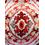 Digi Suzani 40 cm x 40 cm Cushion Cover - @home by Nilkamal, Maroon