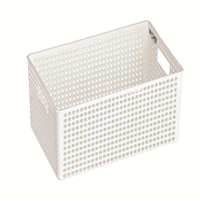 Lock & Lock Multi-Purpose Fashion Basket With Handle White Large
