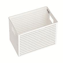 Lock & Lock Multi-Purpose Fashion Basket With Handle White Large