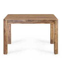 Miracle 4 Seater Dining Table, Natural Walnut