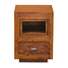 Cubano Night Stand - @home by Nilkamal, Natural Ash