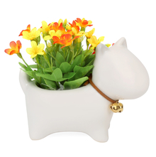 Sheep Potted Plant, Yellow