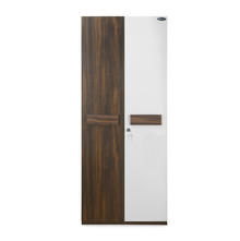 Nilkamal Lodgy 2 Door Wardrobe, Brown