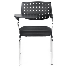 Study Writing Pad Chair - @home By Nilkamal, Crepe Black