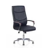 Nilkamal Boss High Back Chair, Black