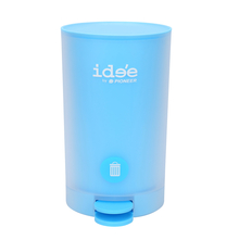 Idee 5 Litre Pedal Round Dustbin - @home by Nilkamal, Blue