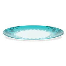 Clas Haveli Dinner Plate Set of 4 - @home by Nilkamal, Sea Green