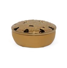 Golden Flora Bowl, Gold