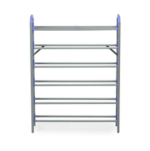 Nilkamal Redley 6 Layer Iron Shoe Rack, Blue
