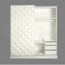 Margery Sliding Wardrobe - @home by Nilkamal, White