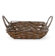 Rectangle PP Fruit Basket - @home by Nilkamal, Brown