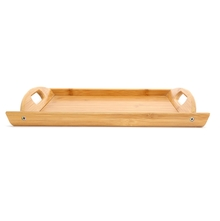 Rectangle Bamboo Small Tray - @home by Nilkamal, Brown