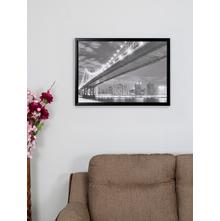 Gilttery Bridge 50X70CM Picture Frame, Silver