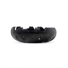 Cutwork Stone Bowl, Black