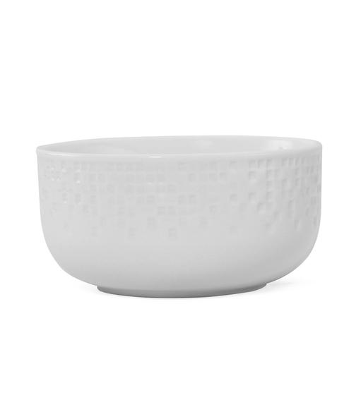 Mosaic Collection Veg Bowl - @home by Nilkamal, White